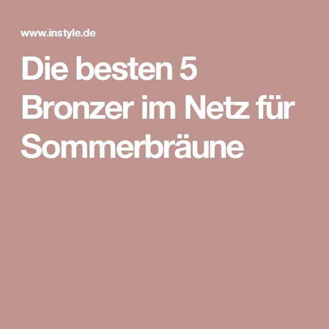 Die besten 5 Bronzer im Netz für Sommerbräune