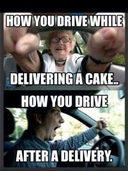 Cake delivery tips