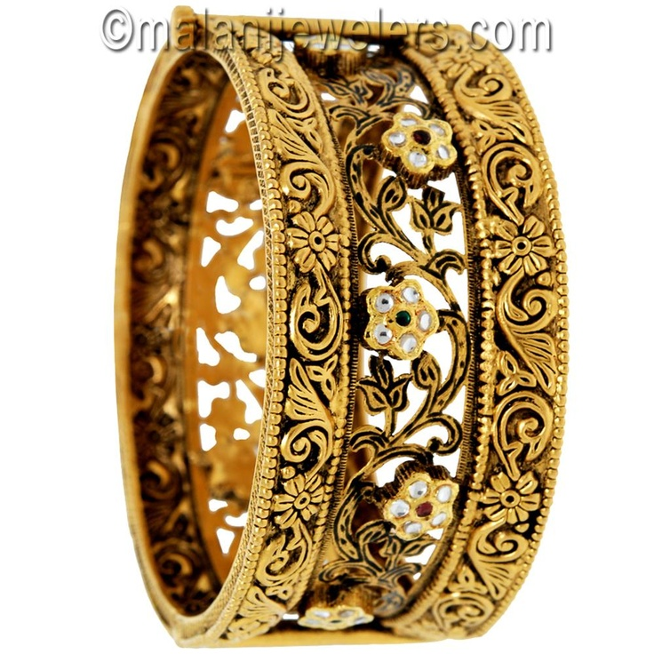 Gold Antique Openable Kara