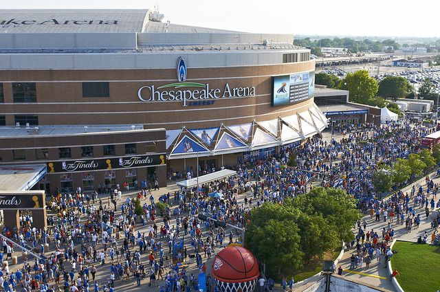 Thunder Alley by Greater Oklahoma City Chamber & CVB, via Flickr