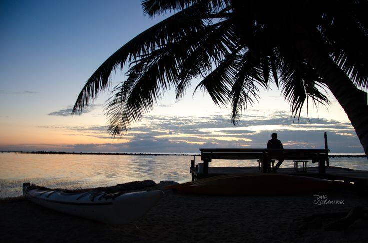 Belize - Tabacco Caye, sunrise  http://janadyskantova.cz/gallery/central-america/