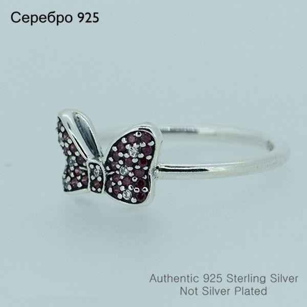 Новый стерлингового серебра 925 минни с бантом образец кольца с камнями каменные кольца для женщин бесплатная доставка