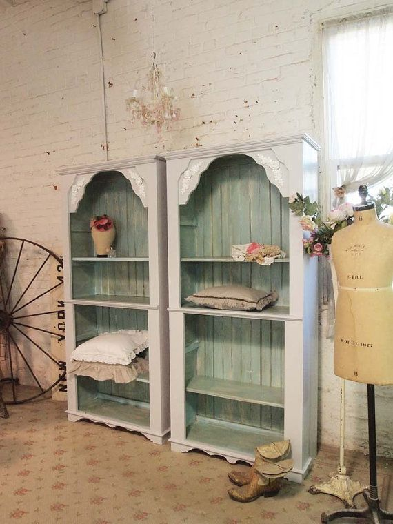 Painted Cottage Handmade Farmhouse Bookcase / by paintedcottages