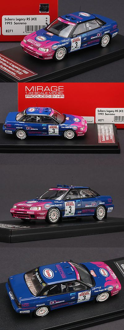 Rally Cars 180271: Subaru Legacy Rs #3 1993 Sanremo Rally **Piero Liatti