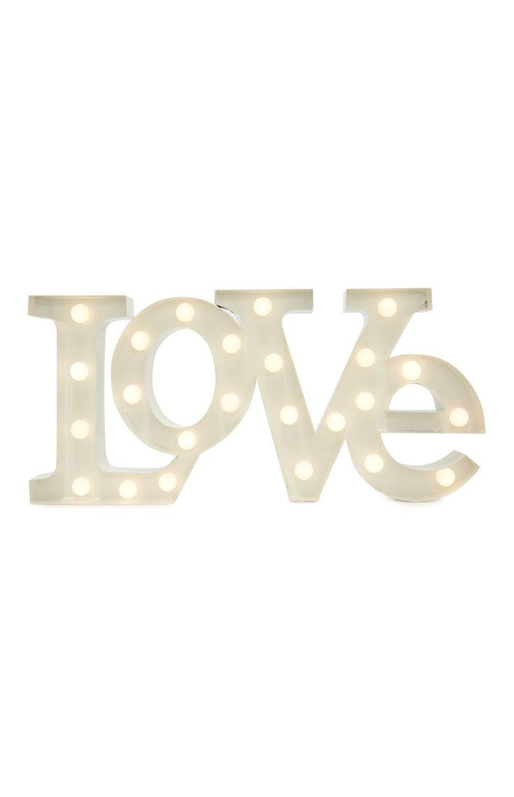Primark - Licht Love