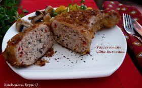 Kuchnia u Krysi : Faszerowane udka kurczaka