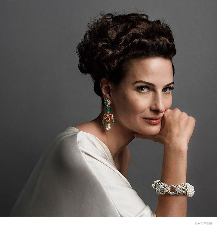 ... & Vinoodh Photograph Portraits for David Webb Jewelry Fall 2014 Ads