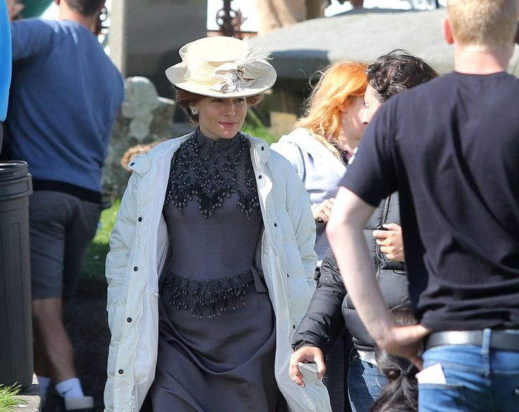 Even though it was a bank holiday today in Northern Ireland, work continued as normal for The Lost City of Z gang as they were out filming on location in what looked like better weather than they h...