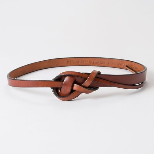 Well Knotted Leather Bracelets and Belts!
