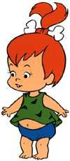 Pebbles Flinstone was born on this date ~ February 22, 1963!!  Happy 49th Birthday!!