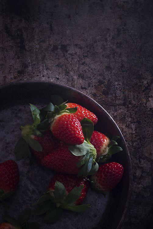 Fresas/ Strawberries by La asaltante de dulces