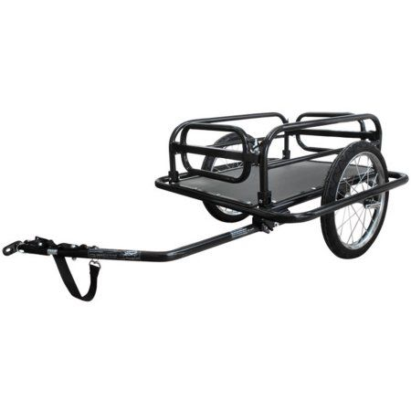 Ventura Foldable Luggage Trailer, Black