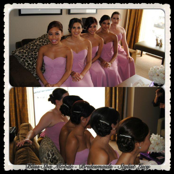 Bridal Parties - Wedding Hair and Make Up www.signaturemobilespa.com