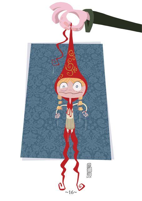 Little Red Riding Hood by Sebastian Baculea
