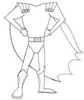 Headless superhero template