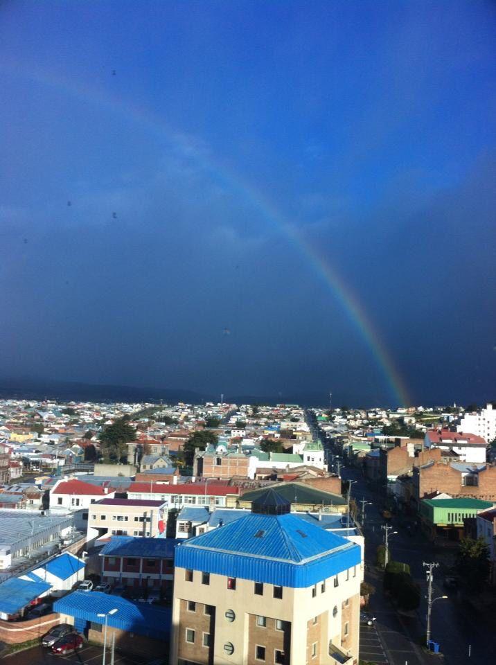 Amanecer en Punta Arenas