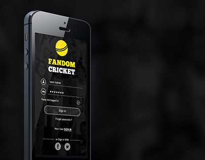 """Check out this @Behance project: """"IPL App"""" https://www.behance.net/gallery/23252457/IPL-App"""