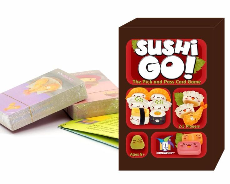 [Visit to Buy] 2016 hot sushi go card game full english version  board game high quality suitable for the children and family game #Advertisement