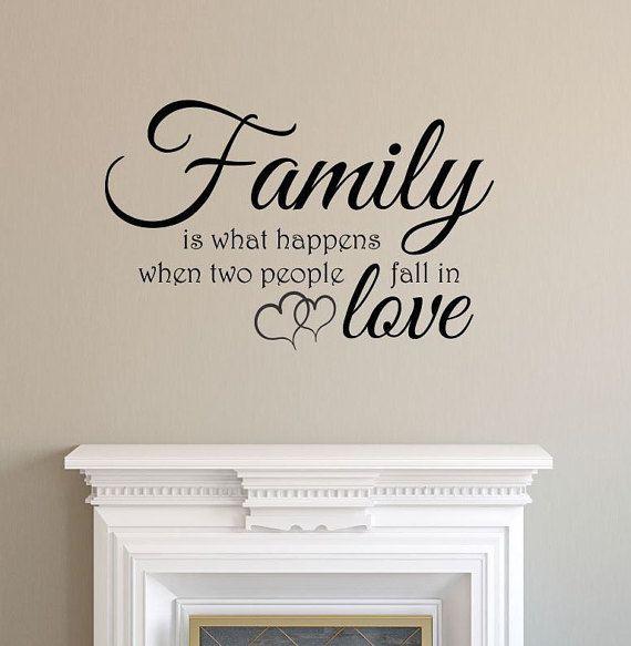 22 best FAMILY Quotes Vinyl Decals images on Pinterest Vinyl