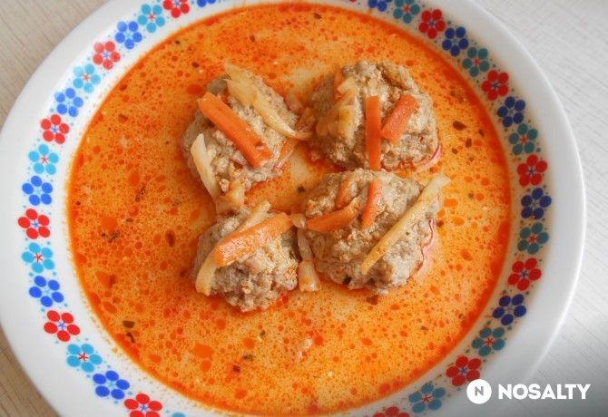 Tárkonyos húsgombócleves Katrin konyhájából
