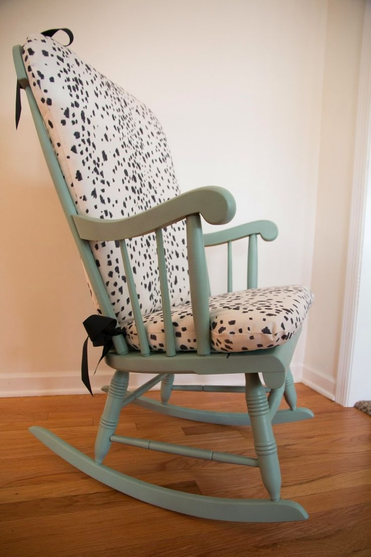 Step 2 rocking chair - Diy Les Touches Upholstered Rocking Chair