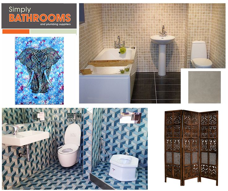 From the stunning shores of Goa to the exquisite Taj Mahal, India provides a cornucopia of exotic bathroom décor ideas. READ MORE… #DreamBathroom #BathroomStyles #SimplyBathrooms http://www.simplybathrooms.co.za/bathroom-styles-inspiration-india/