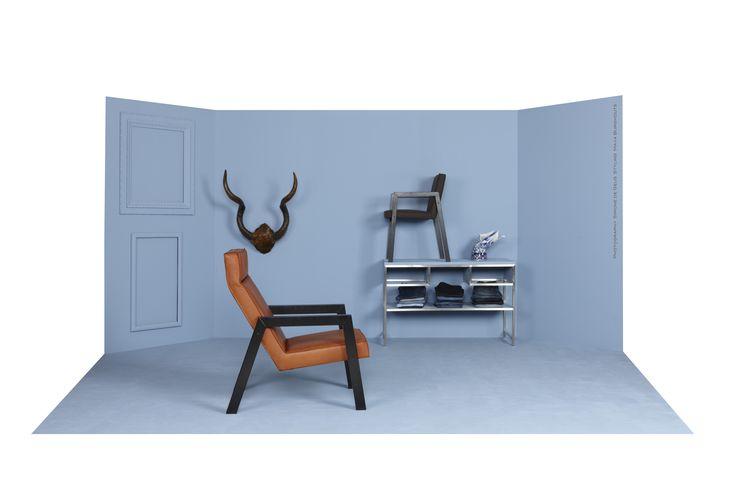 Fauteuil Casco, dutch design by Spoinq