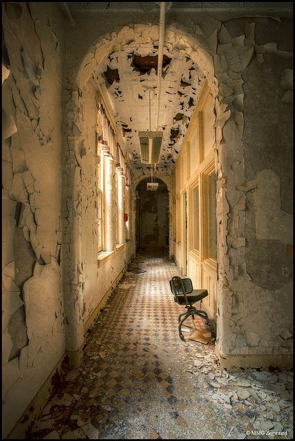 Hudson River Hospital....this was on the first floor of the original hospital. It was called