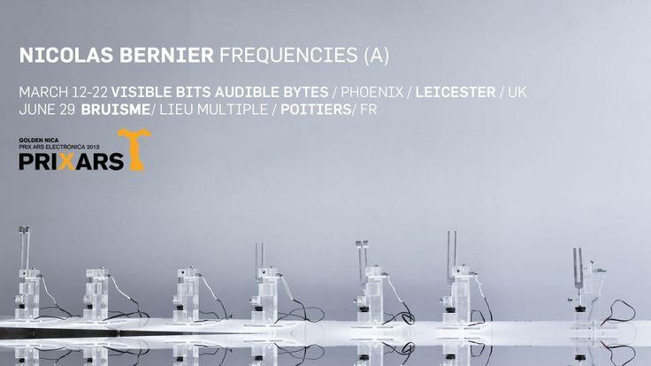 frequencies (a)   nicolas bernier