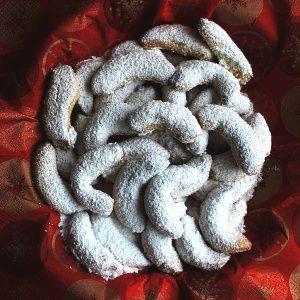 Bezlepkové vanilkové rohlíčky z mletých mandlí | recept