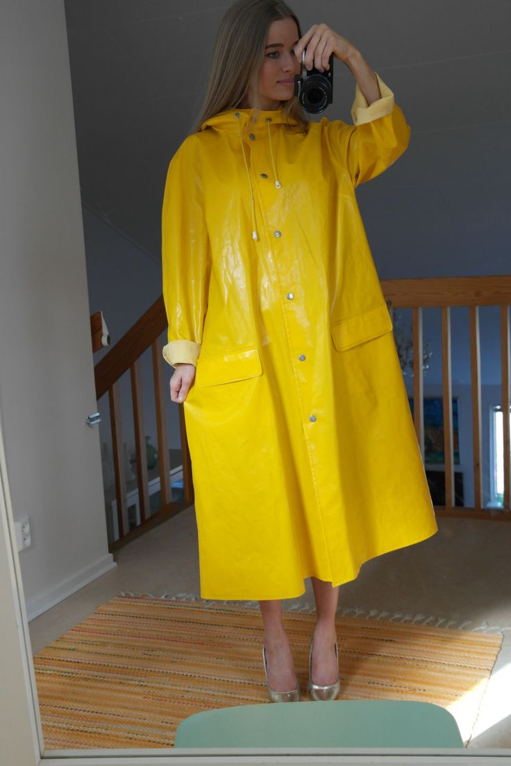 31 Best Images About Raincoat On Pinterest Sexy Yellow