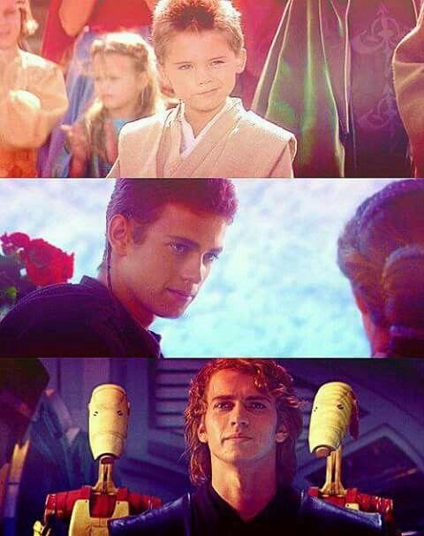 ANAKIN //Okay so my brother looked exactly like little Anakin when he was 4-5 sooooooooo that's weird