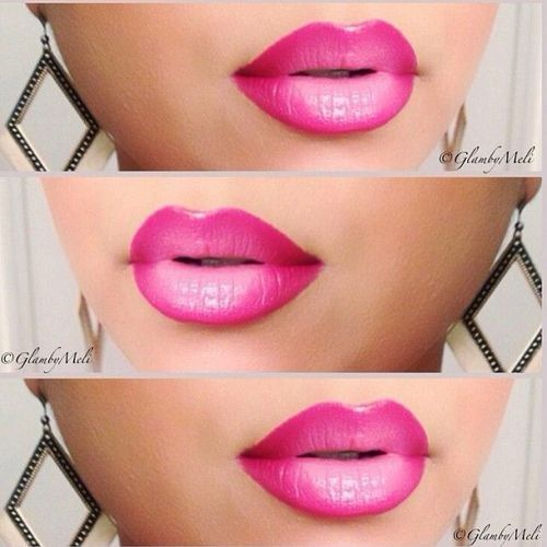 ❀ ✿ The new makeup trend : Ombre Lips and how to do it