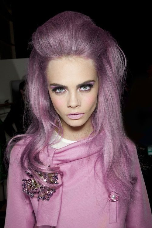 Pastel Purple/Pink Hair Editorial @ The Beauty ThesisThe Beauty Thesis