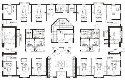Dental office blueprint dental office design ideas for Office blueprints design