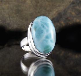 Larimar Ring by Entia