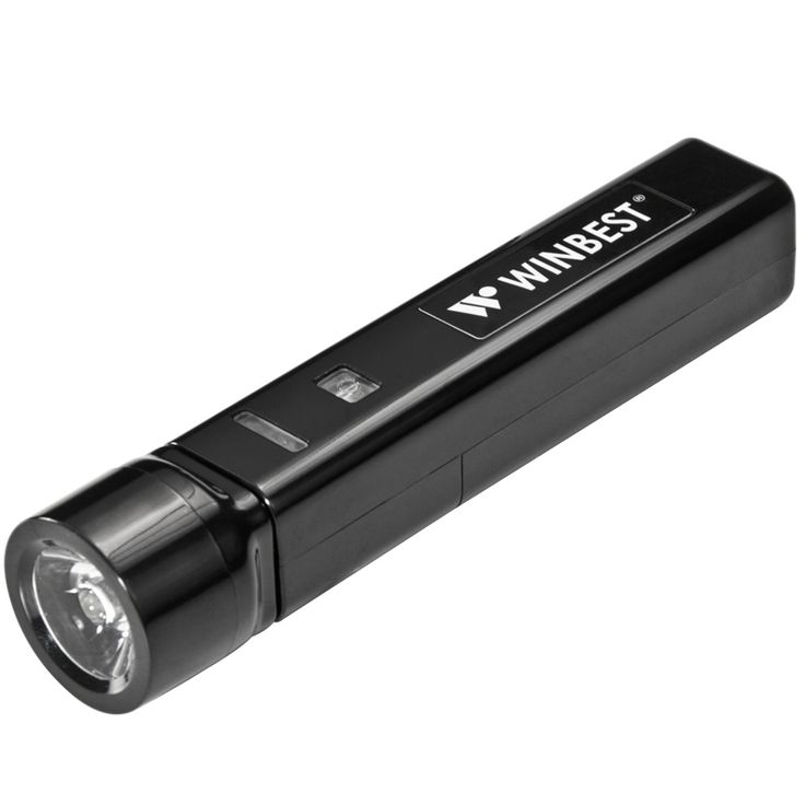 Portable USB Device Charger with Flashlight - Winbest Products by Barska
