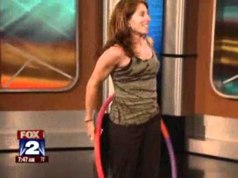 Get Strong With Weighted Hula Hoops, Awesome workout, please share