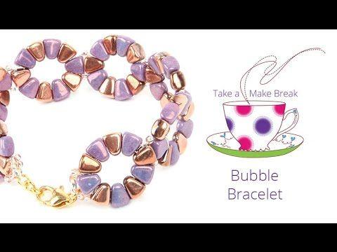 Nib-Bit Bubble Bracelet | Take a Make Break with Beads Direct