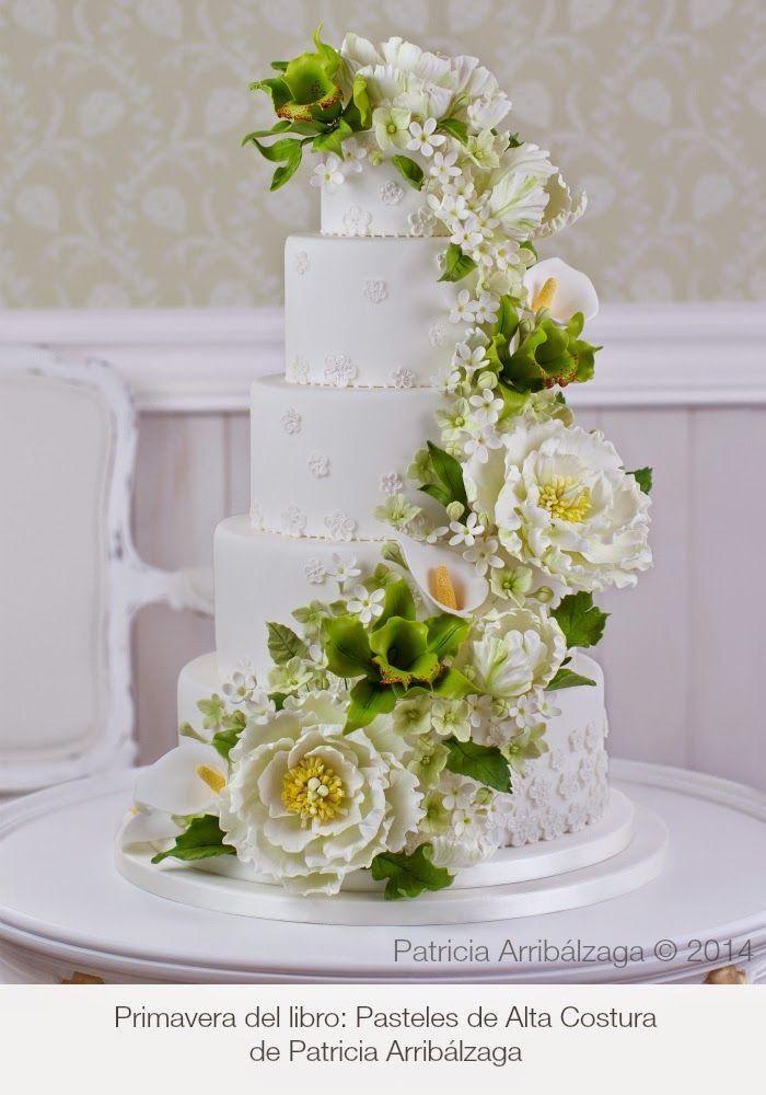 Spring wedding cake / Pasteles de Alta Costura de Patricia Arribálzaga