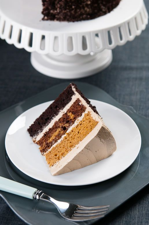 butterscotch pumpkin chocolate cake // Hungry Rabbit: Butterscotch Cakes, Layered Cakes, Cakes Pop, Rabbit Ideas, Cakes Flavored, Eating Cakes, Chocolates Cakes Recipes, Butterscotch Pumpkin, Pumpkin Chocolates