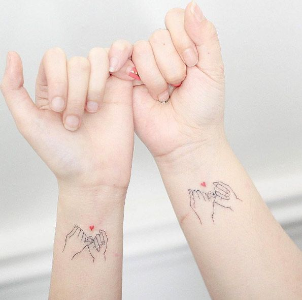 Pinky promise by Hello Tattoo