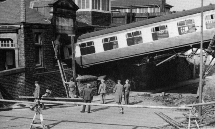 1958. The incline on both the Meltham and Penistone lines made them a popular target for vandals and there are numerous reports of empty rolling stock been released around this time.