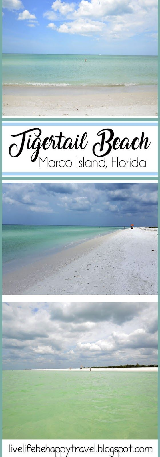 A day at Tigertail Beach - Marco Island - Naples, Florida
