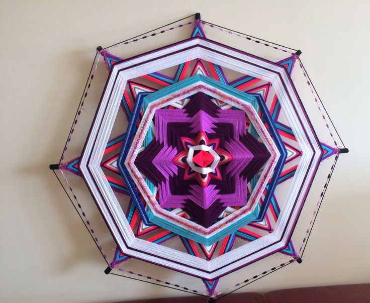 Mandala Tejido de 1 metro
