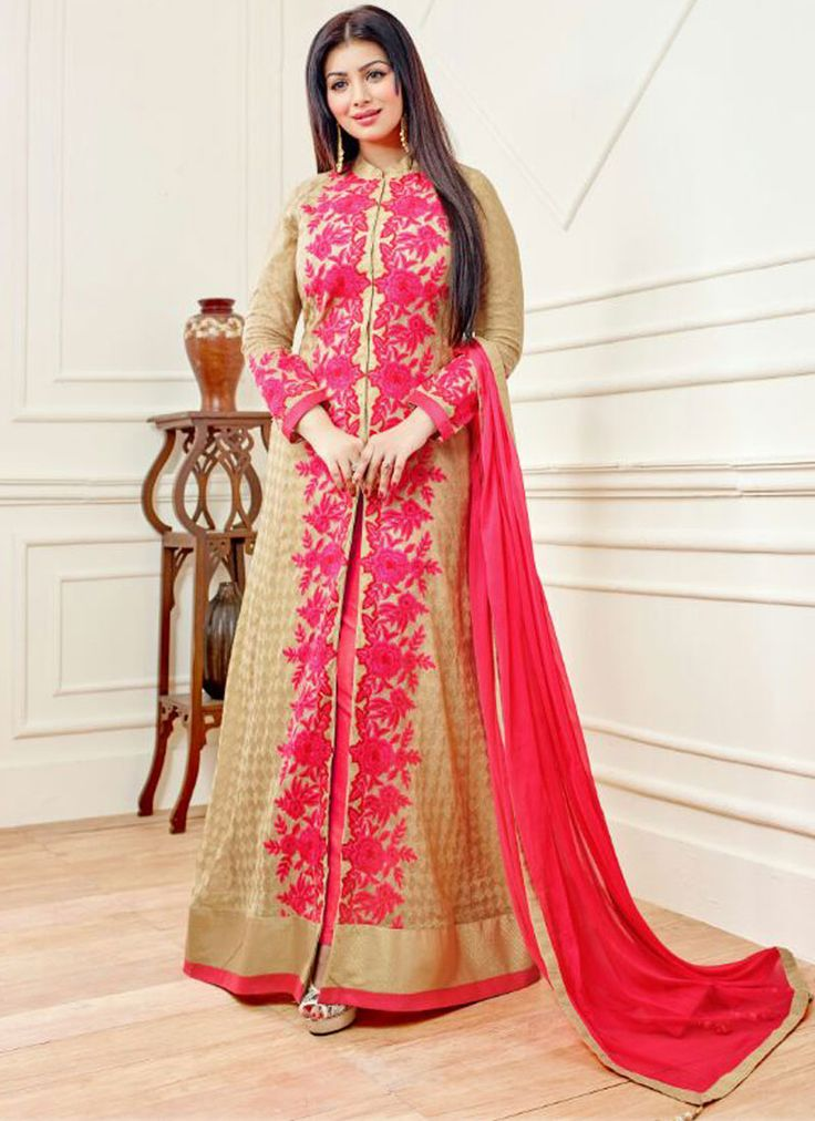 Ayesha Takia Embroidered Work Designer Floor Length Salwar Suit  http://www.sareefantacy.com/product/ayesha-takia-embroidered-work-designer-floor-length-salwar-suit/