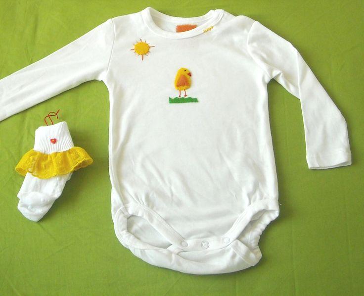 Taller Creativo: Ropa de bebe personalizada