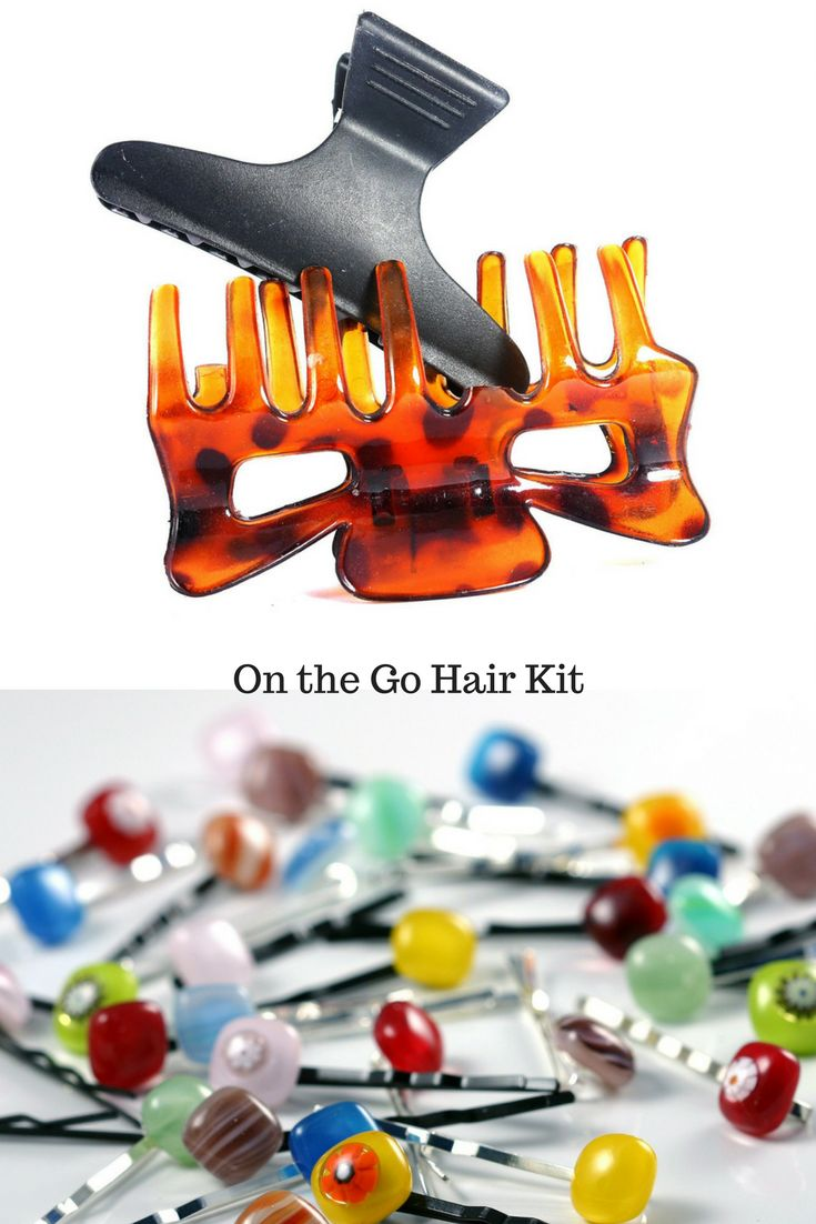 Hair kit for travel. It is a pack of 2. #affiliate #hairclips #hairkits #haircare #hairstyles #hairhelp #hairbands #hairaccessories #allabouthair