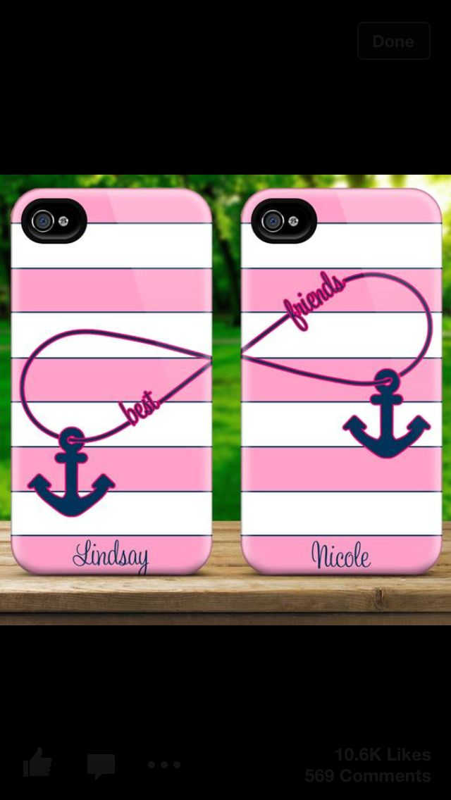 I want one for my best friend and I:) of course a little bit different!