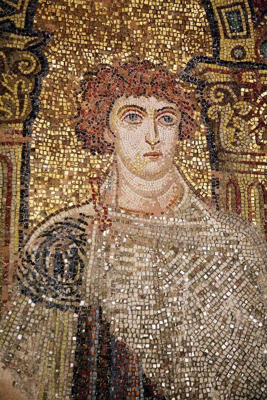 Rotonda di San Giorgio, Salonicco, Grecia, I mosaici della fine del IV -metà del V secolo. San Basilisco